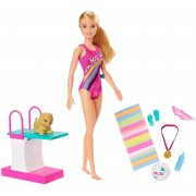 Boneca Barbie - Barbie Dreamhouse Adventures - Barbie Nadadora - Mattel