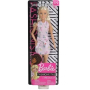 Boneca Barbie Fashionista Doll Look Modelo 119 Mattel Fbr37