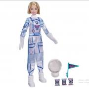 Boneca Barbie Profissões Astronauta Loira GYJ98/GYJ99 Mattel