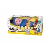 Boneca Bebê Reborn Papa Léguas Looney Tunes Lançamento Super Toys