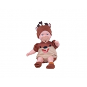 Boneca Bebê Reborn Taz-Mania Looney Tunes Lançamento Super Toys