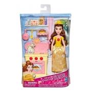 Boneca Disney Princesa Bela Cozinha Real Hasbro
