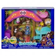 Boneca Enchantimals aventuras na fazenda da mattel Gjx23