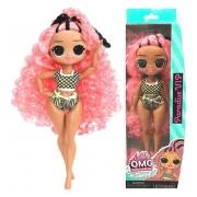 Boneca Lol Surprise Omg Swim Doll Paradise Vip Candide