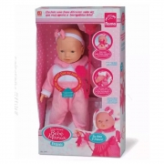 Boneca New Mini Bebê Mania 50 Frases - Roma