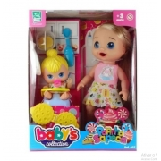 Boneca Papinha Sapeca Babys Collection 407 Super Toys