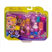 Boneca Polly Pocket Conjunto Queridinho Das Meninas GBF85