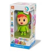 Boneco de vinil Nina Pocoyo Cardoso toys 3021