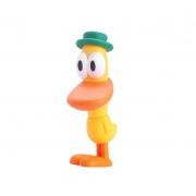 Boneco de vinil Pato Pocoyo Cardoso toys 0281
