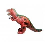 Boneco Dinossauro Rex Flexível com som DMT4722