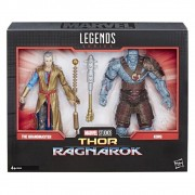 Boneco Legends Series Marvel 80 Anos - The Grandmaster / Korg - Thor Ragnarok