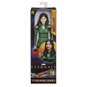 Boneca Marvel Eternos Sersi Titan Hero Hasbro