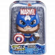 Boneco Marvel Vingadores Mighty Muggs Capitão América 3 Faces