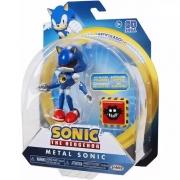 Boneco Metal Sonic Articulado Sonic The Hedgehog Fun