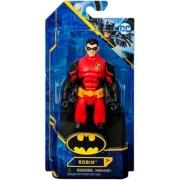 Boneco Robin Armadura Vermelha 15 Cm Dc  Spin Master