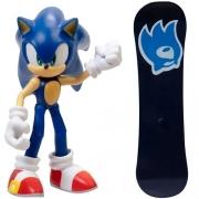 Boneco Sonic The Hedgehog Articulado Fun