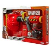 Brincando de ser Kit bombeiro com capacete e acessórios BR962 multikids