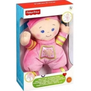 Brinquedo A Primeira Boneca Do Bebê Fisher Price N0663