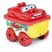Brinquedo Educativo Bloco Racer Car 55 Dismat MK378