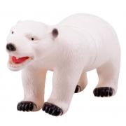 Brinquedo Infantil Animal Selvagem De Vinil Urso Polar