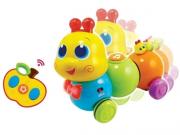 Brinquedo Infantil - Lagarta Divertida com Controle Remoto - Yes Toys