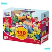 Brinquedo Infantil Mais Blocos III - Dismat MK382 Blocos de Montar