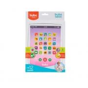 Brinquedo Musical Tablet Rosa Estimula Os Sentidos 08549 Buba