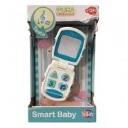 Brinquedo Pura Diversão Smart Baby Azul Da Yes toys
