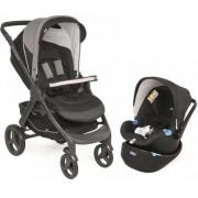 Carrinho De Bebê Style Go Jet Black + Bebê Conforto