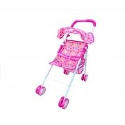 Carrinho De Boneca infantil Bebê Reborn Delicado Dm Toys DMT5777