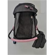 Carrinho De Boneca Xikitinha rosa claro Com Bolsa - Brinquedos Oliveira-