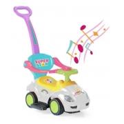 Carrinho De Passeio empurrador Infantil Mega Car Unicórnio