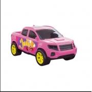 Carrinho Para Boneca Picape Rosa Judy Samba Toys
