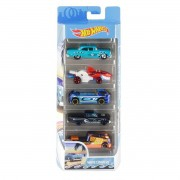 Carrinhos Hot Wheels Pack com 5 Wave Cravers - Mattel