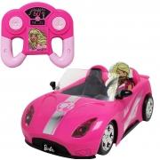 Carro da Barbie 7 funções Veículo de Controle Remoto Candide