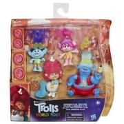 Conjunto de Figuras com Acessórios - DreamWorks - Trolls World Tour - Hasbro