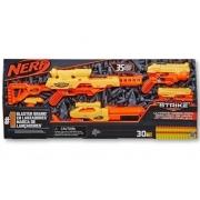 Conjunto de Lançadores Nerf - Nerf Alpha Strike - Missão Completa - Hasbro