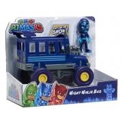 Conjunto de Veículo e Figura - PJ Masks - Night Ninja Bus - Multikids