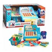 Creative Fun Caixa Registradora Azul Multikids Br386