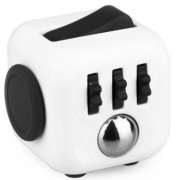 cubo anti stress fidget cube - branco 2602