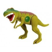 Dinossauro Tirano Rex Com Dispositivo De Som 43cm Adijomar - Verde