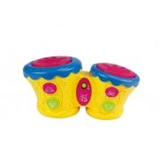 Dmtoys tambor musical baby dmb5799a  amarelo Dm Toys DMB5799