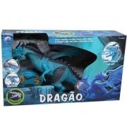 Dragão de Controle Remoto - Lendários Azul - Candide