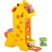 Fisher-price Girafa com Blocos - B4253 -mattel