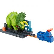 Hot Wheels City Conjunto Ataque de Triceratops- Mattel-GBF97