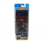 Hot Wheels Conjunto Com 5 Carros Hw Legends Mattel GTN38