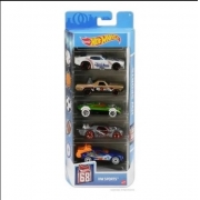 Hot Wheels Conjunto Com 5 Carros Hw Sports Mattel Gtn37