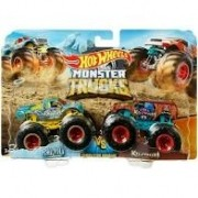 Hot Wheels Conjunto Monster Trucks Raijyu E Kovmori - Mattel Gjf66