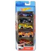 Hot Wheels Kit Com 5 Carrinhos HW Rescue - Mattel GHP61