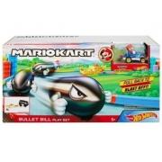 Hot Wheels Lançador e Mini Veículo Mario Kart Bullet Bill GKY54 Mattel